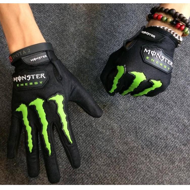 [GÍA CÔNG PHÁ] Găng tay vải dài ngón monster