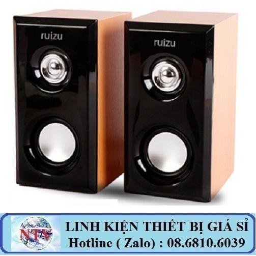 🚛Shopee trợ giá🚛 Loa vi tính 2.0 Ruizu RS 810 - Âm thanh cực chất