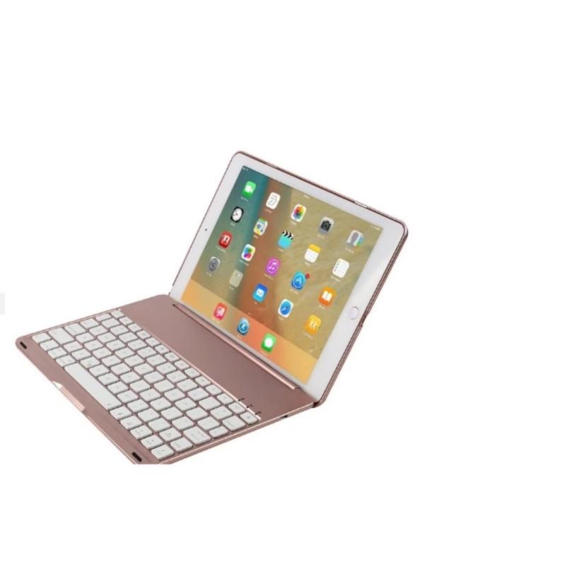 Bàn phím Bluetooth ipad Pro 9.7 (Vàng hồng) - Phukienchobanvip