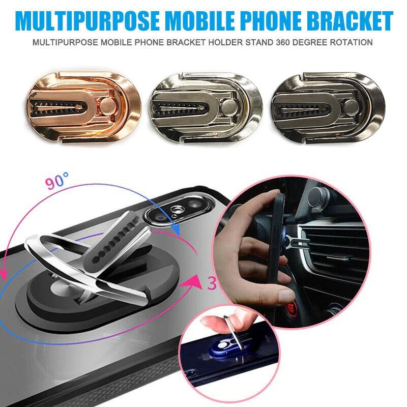 Nhẫn đỡ điện thoại gắn lỗ thông gió xe hơi tiện dụng