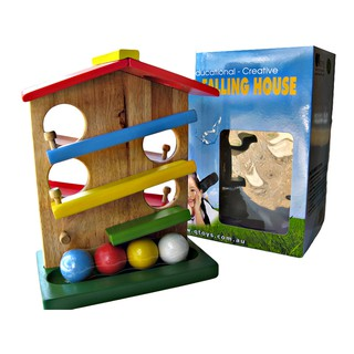 Nhà thả bóng gỗ Balling House – thương hiệu Qtoys