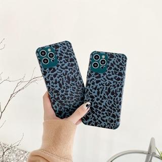 Four-corner leather and leopard print phone case iPhone 7/8/SE2020/7P/8PLUS/X/XS/XR/XS MAX/11/11 Pro/11 Pro Max/12 MINI/12/12 Pro/12 Pro MAX