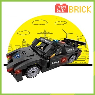 Lắp ráp lego xe tuần tra đặc nhiệm SWAT – MR6507