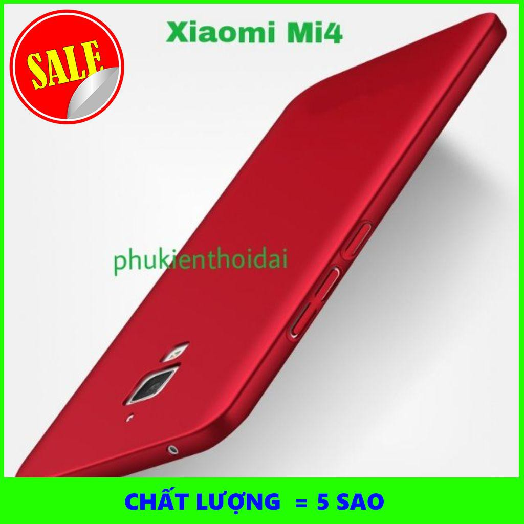 [5SAO]  Xiaomi mi4 ốp lưng nhựa mỏng cao cấp hi