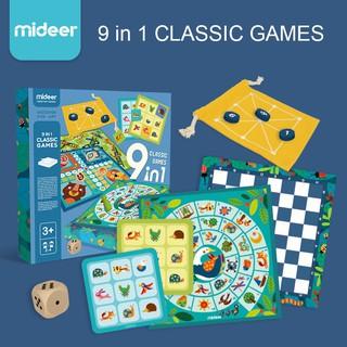 Bộ trò chơi dân gian 9 trong 1 – 9 in 1 Mideer