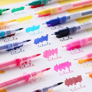 Hình ảnh Winzige Brush Pen Bút lông thiết kế 2 đầu viết hoặc vẽ-1