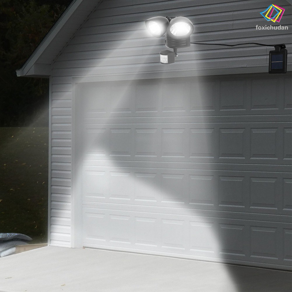SENSOR Đèn Led 22 Bóng Cảm Biến Chuyển Động Sử Dụng Năng Lượng Mặt Trời