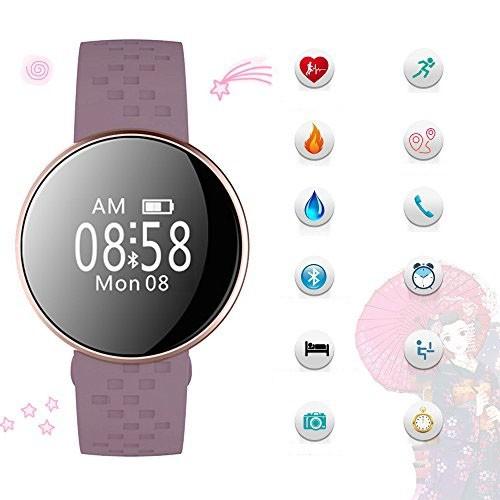 Đồng hồ nữ Skmei smart watch Tím