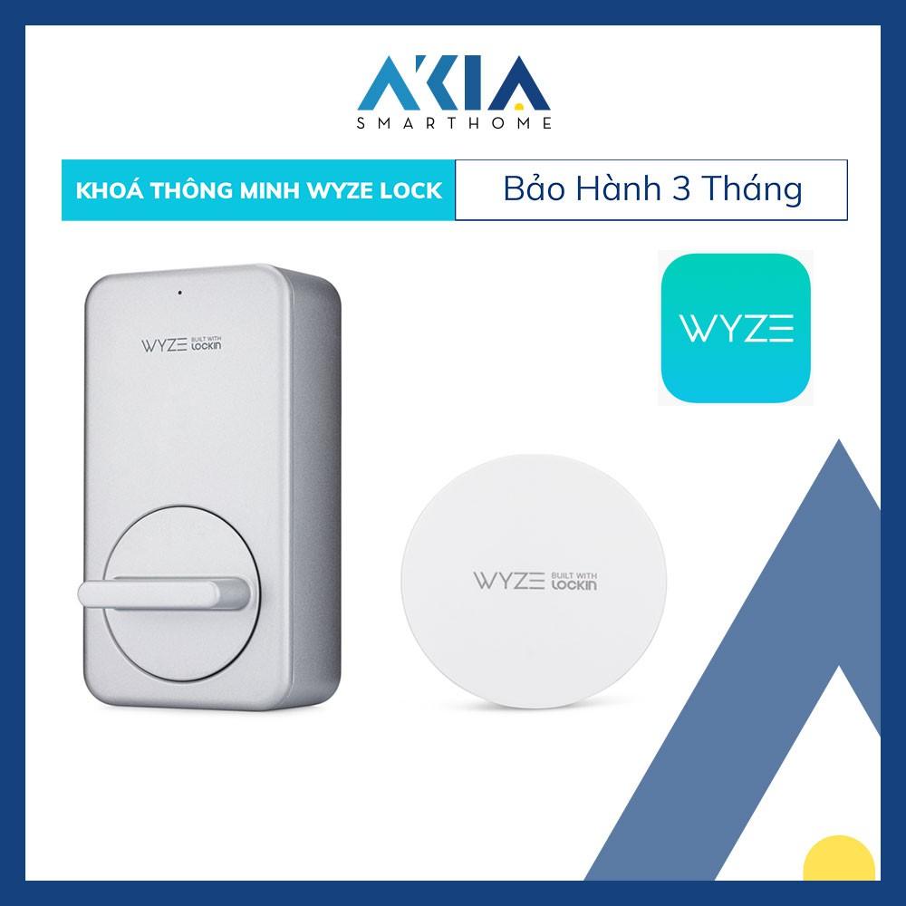 Ổ Khóa Thông Minh Wyze Lock + Gateway Bundle hỗ trợ Zigbee, Wifi và Bluetooth