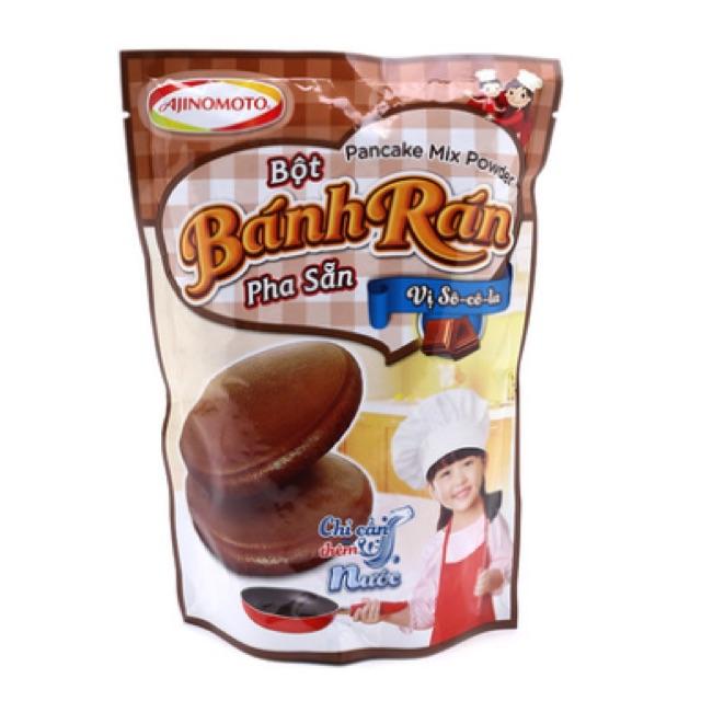 Combo 10 bịt Bột bánh rán pha sẵn Ajinomoto vị sô cô la 200g