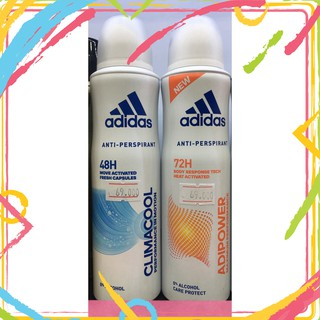 Xịt Khử Mùi Toàn Thân Nữ Adidas 150ml thumbnail