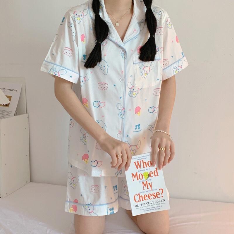 Set đồ ngủ Pyjama Cinnamoroll Basic Hàn Quốc
