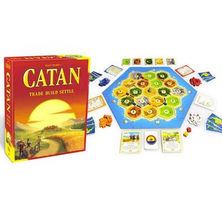 Settlers of Catan Board Game 5th Edition Knights Barbarians 5-6 Player