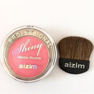 PHẤN MÁ HỒNG AIZIM - Professional Marble Blusher ( HỘP BẠC )