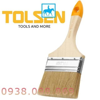 Cọ Sơn Cán Gỗ 4inch 102mm paint brush TOLSEN 40126 – [Chính Hãng]