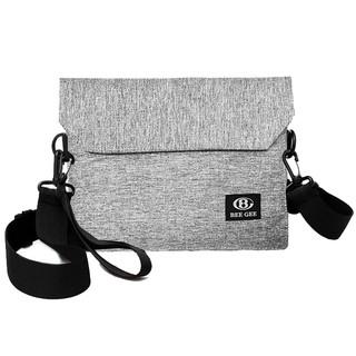 Túi đeo chéo mini nam nữ unisex thời trang Hàn quốc có thể làm bóp ví cầm tay BEE GEE 094 thumbnail