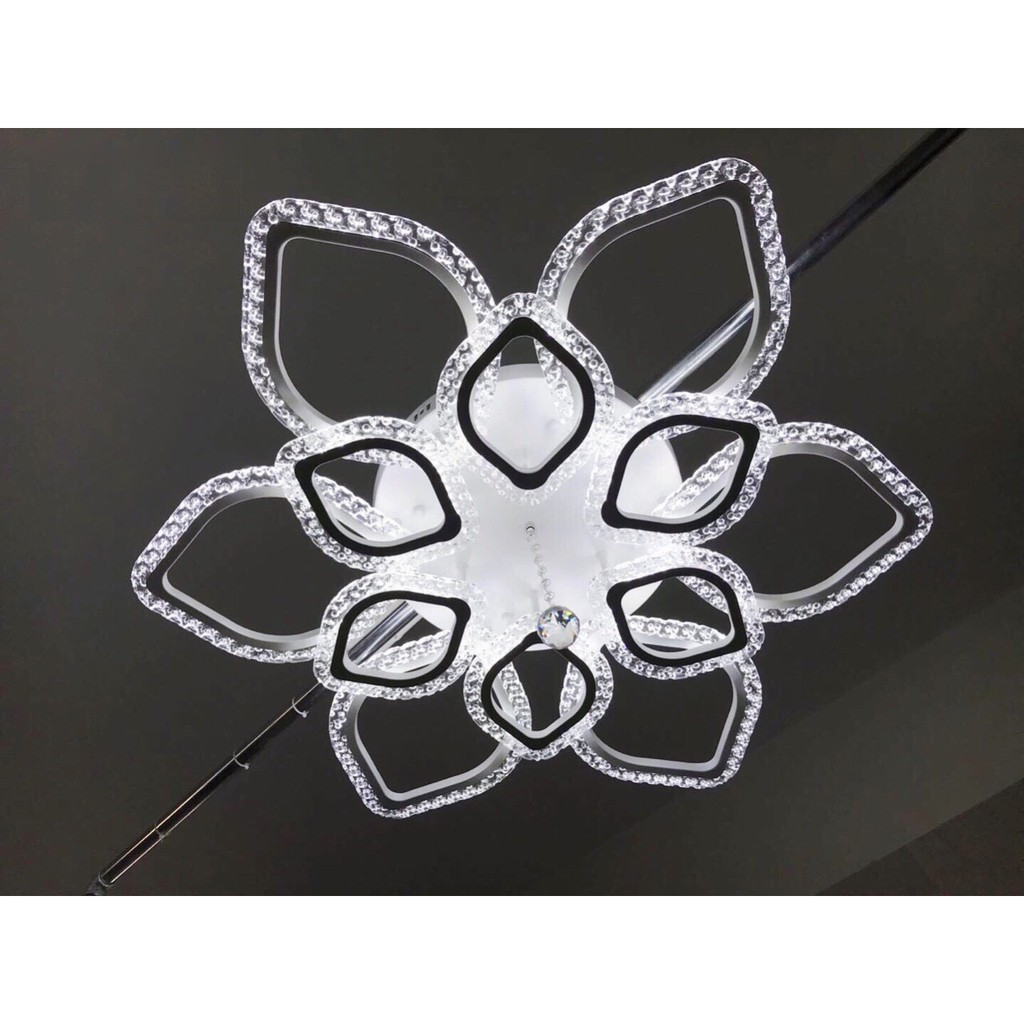 Đèn trần URIANA hiện đại tiết kiệm năng lượng 3 chế độ ánh sáng - kèm điều khiển từ xa