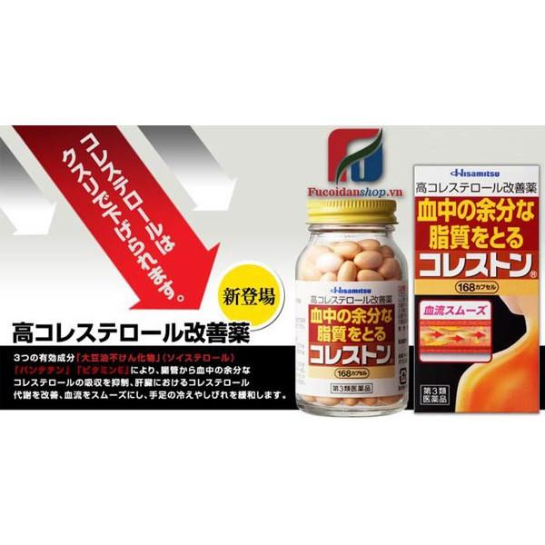 CẬN DATE - THANH LÝ - Viên uống giảm mỡ trong máu & Cholesterol Hisamitsu 168 viên - 2430654 , 1153360219 , 322_1153360219 , 350000 , CAN-DATE-THANH-LY-Vien-uong-giam-mo-trong-mau-Cholesterol-Hisamitsu-168-vien-322_1153360219 , shopee.vn , CẬN DATE - THANH LÝ - Viên uống giảm mỡ trong máu & Cholesterol Hisamitsu 168 viên