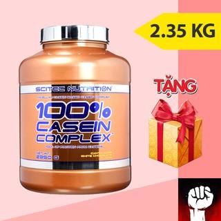 Casein Scitec Casein Complex Sữa Tăng Cơ Nuôi Cơ Ban Đêm 2kg35 78 lần dùng Tặng Bình Shaker + 2 Protei thumbnail