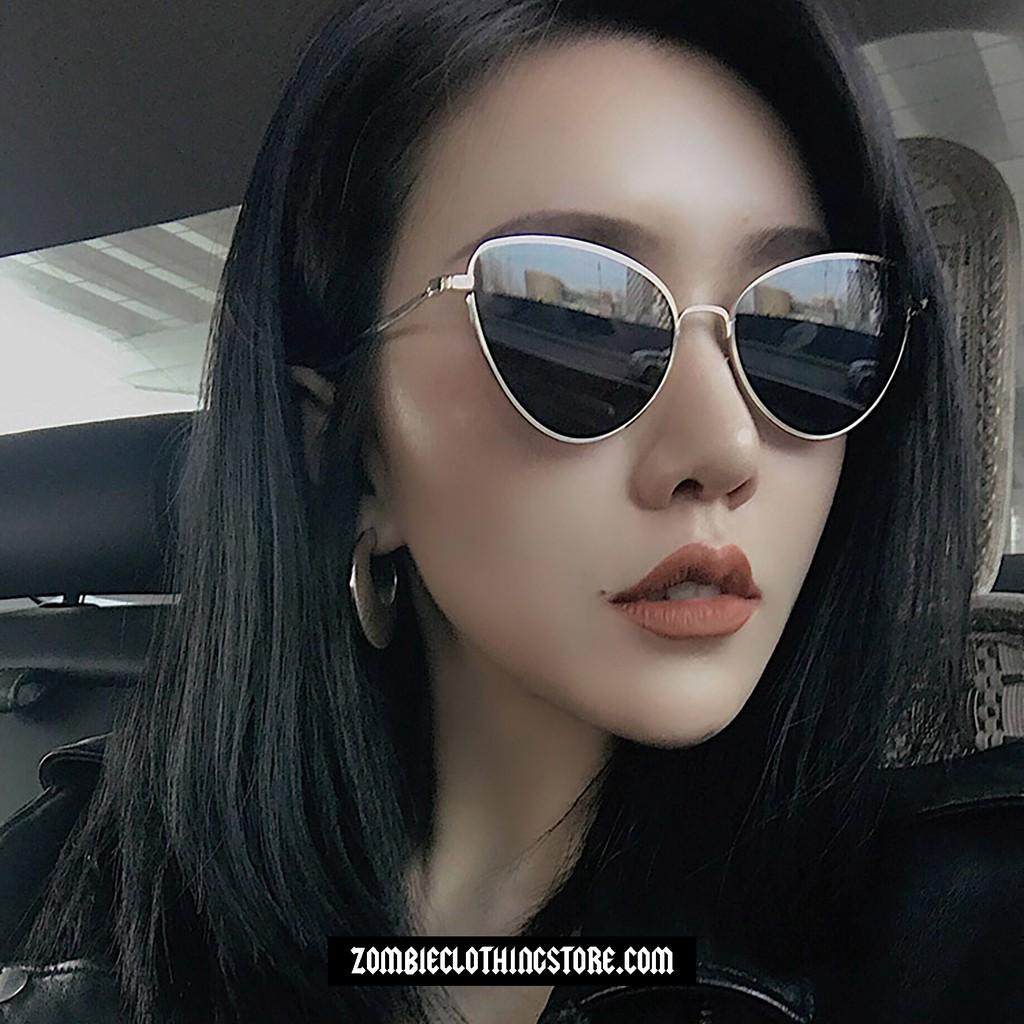 Mắt kính thời trang mẫu PEEKY - BLACK WITH GOLD