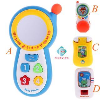 ( HÀNG có sẵn ) Điện thoại đồ chơi phát nhạc có gương cho bé