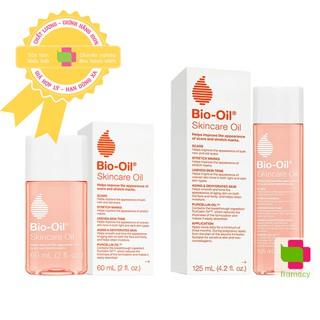 Dầu dưỡng Bio Oil, Nam Phi (60ml và 125ml) giảm rạn da và làm mờ sẹo cho mẹ bầu, mẹ sau sinh và trẻ em thumbnail