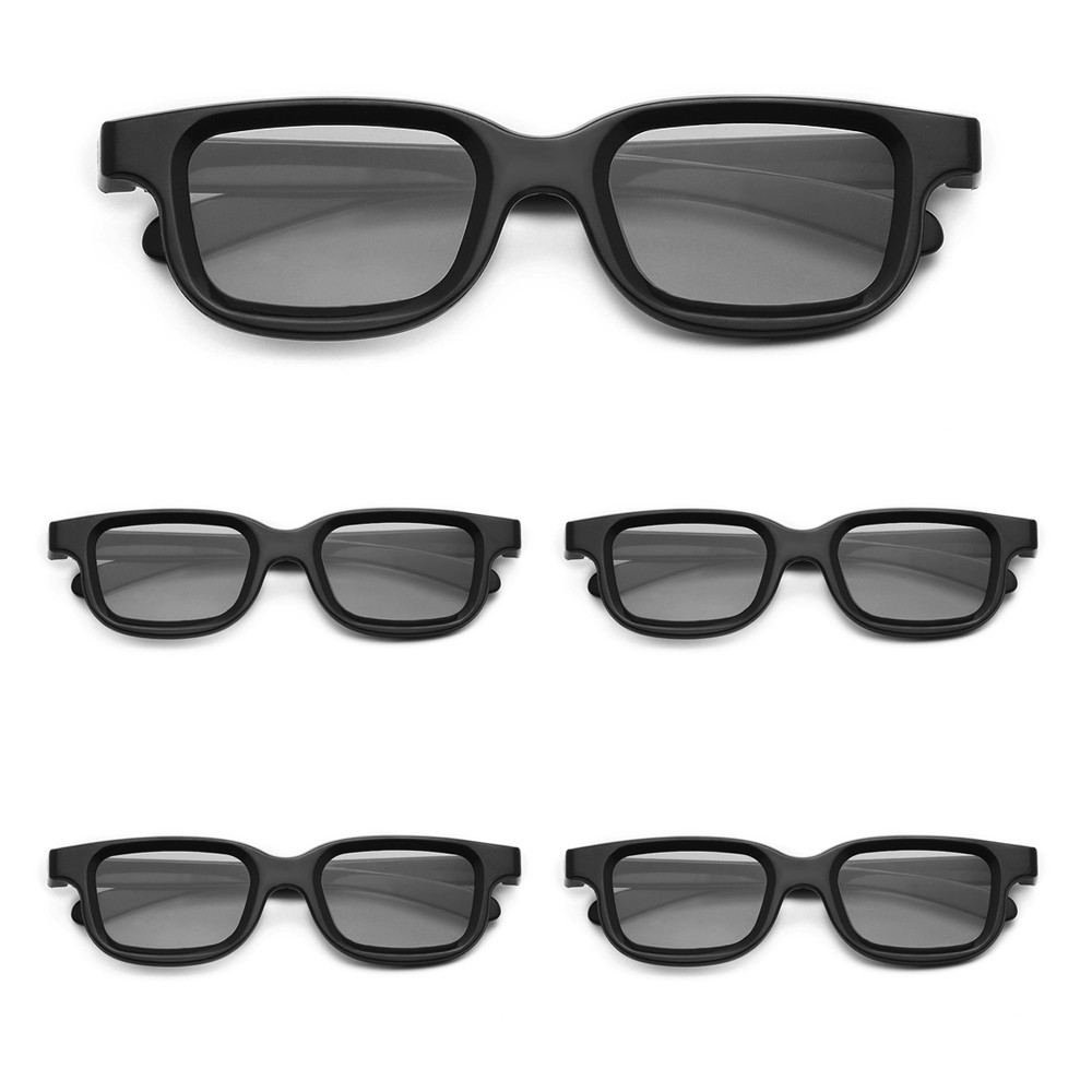 VQ163R Polarized Passive 3D Glasses for 3D TV Real 3D Cinemas for Sony Panasonic