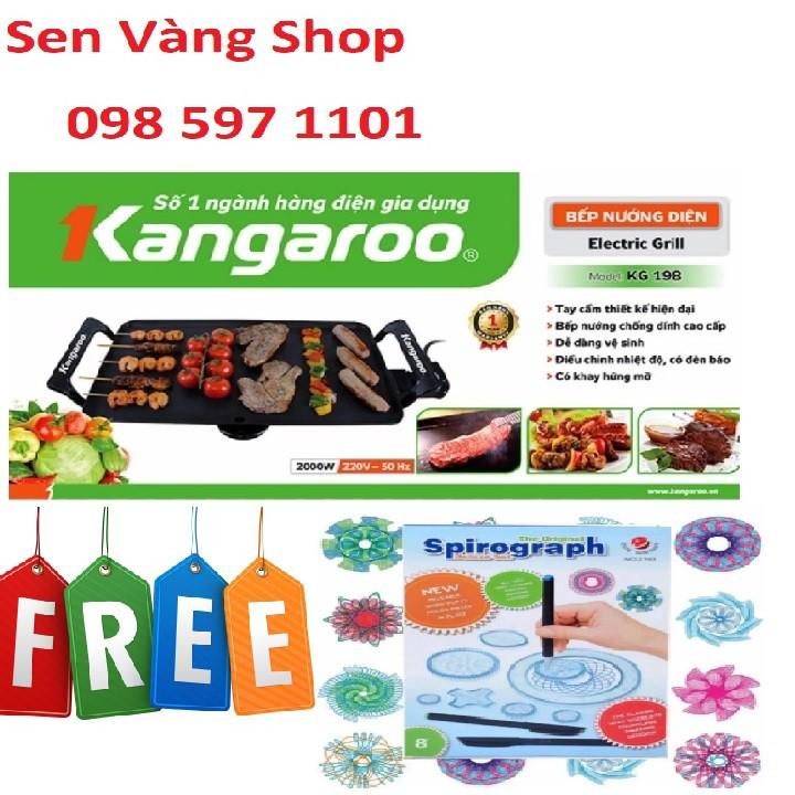 Bếp Nướng Điện Kangaroo KG 198 cao cấp tặng kèm 1 bộ thước vẽ sáng tạo cho trẻ - 3071444 , 651179828 , 322_651179828 , 489000 , Bep-Nuong-Dien-Kangaroo-KG-198-cao-cap-tang-kem-1-bo-thuoc-ve-sang-tao-cho-tre-322_651179828 , shopee.vn , Bếp Nướng Điện Kangaroo KG 198 cao cấp tặng kèm 1 bộ thước vẽ sáng tạo cho trẻ