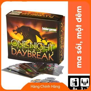 Thẻ bài Ma Sói One Night DayBreak (Ma sói Hừng Đông) Việt Hóa DEHFCK