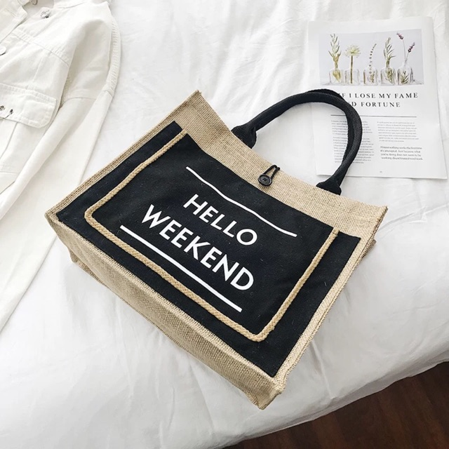 TÚI CỐI HELLO WEEKEND