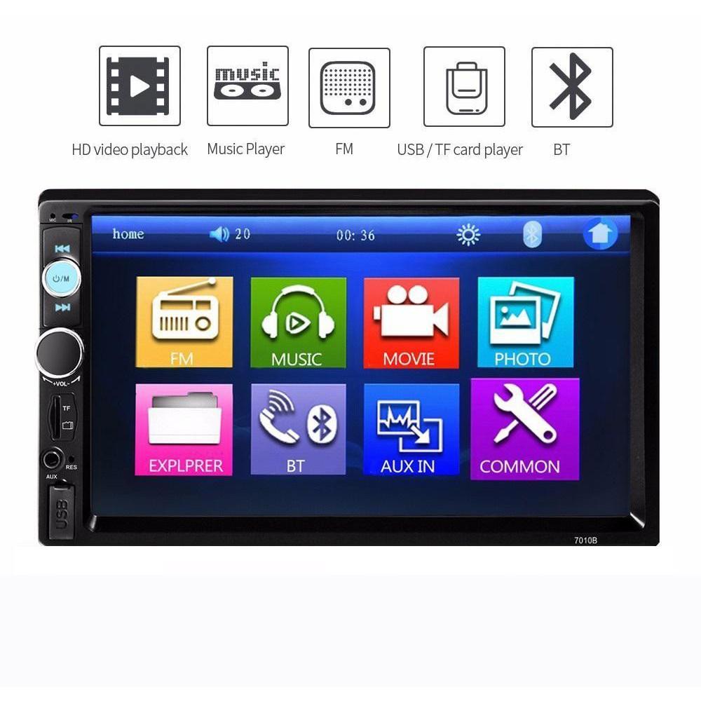 Màn hình ô tô mp5 cảm ứng 7 inch giá rẻ đa chức năng, FULL HD, âm thanh, hình ảnh sắc nét,màn hình dvd cho ô tô,dvd ô tô