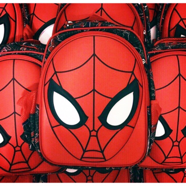 Balo siêu nhân nhện cho bé size to/nhỏ
