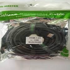 Cáp HDMI 1.4v KINGMASTER KH404 dài 10M - Chính Hãng 100%- Chất Lượng Tốt- Không Nhiễu- Hỗ Trợ 4k x 2k
