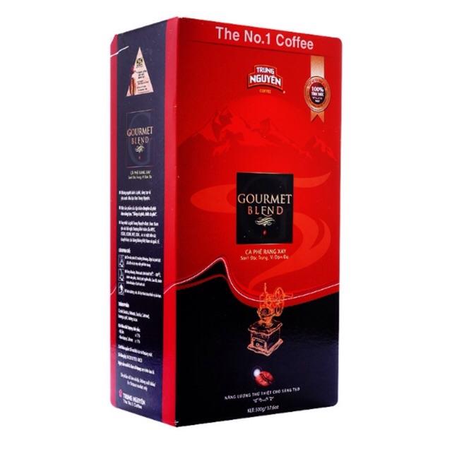 Cà phê rang xay Gourmet TRUNG NGUYÊN 500g - 2574487 , 261054482 , 322_261054482 , 135000 , Ca-phe-rang-xay-Gourmet-TRUNG-NGUYEN-500g-322_261054482 , shopee.vn , Cà phê rang xay Gourmet TRUNG NGUYÊN 500g