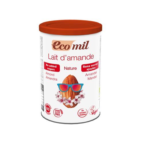 Sữa bột hạnh nhân hữu cơ không đường Ecomil 400g