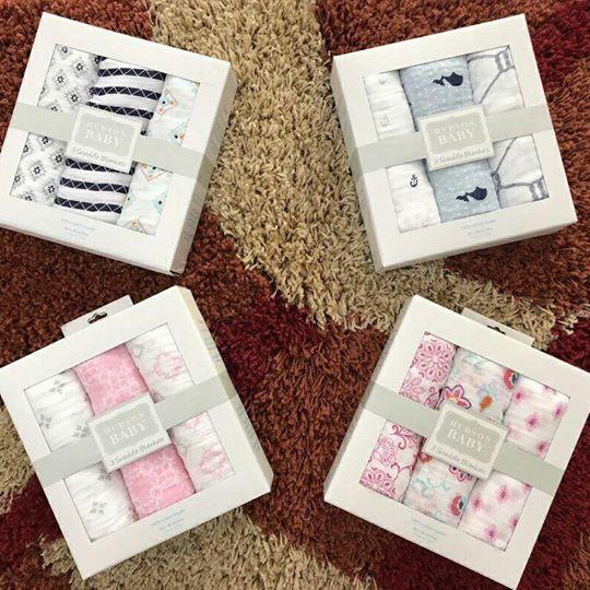 Combo 5 túi khăn aden 5 aden cotton 1 hộp aden sợi tre
