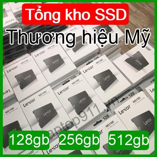 ổ cứng ssd 128gb 256gb 512gb mới 100% chính hãng bảo hành 36 tháng
