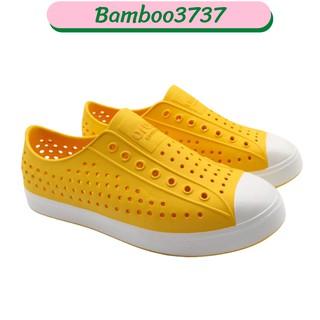 Giày Nam ur Ban Rain Shoes 2k21 Yellow Sole White BB031 thumbnail
