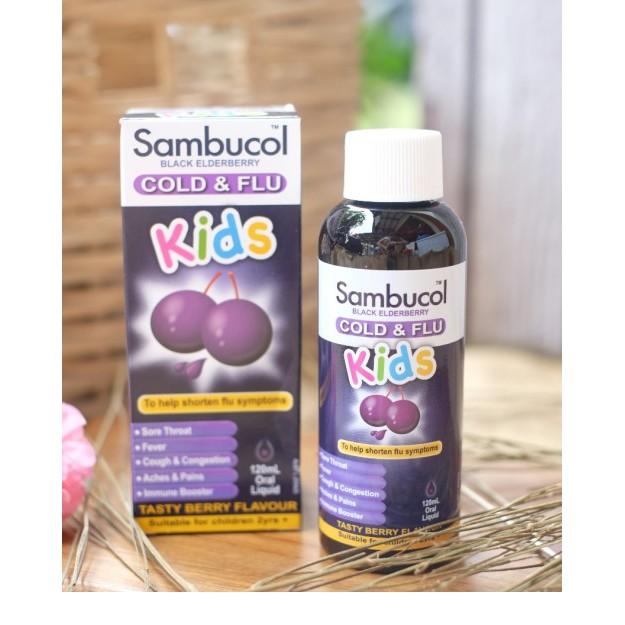 Bill Úc - Sambucol Kids Cold & Flu oral Liquid 120ml