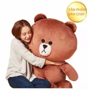 Gấu Brown Khổ vải 1m3 – Chiều cao1m2 – Hàng VNXK cao cấp