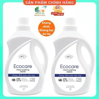 Nước rửa tay ECOCARE 4L, quế hữu cơ, nước rửa tay diệt khuẩn siêu nhanh dạng bọt thumbnail