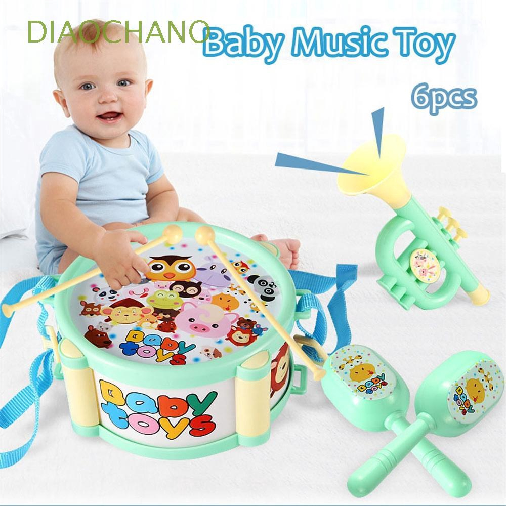 6pcs/set Cartoon Playing Baby Gift Early Educational Hand Grasp Bell Drum Toys - 22075705 , 7812530768 , 322_7812530768 , 81700 , 6pcs-set-Cartoon-Playing-Baby-Gift-Early-Educational-Hand-Grasp-Bell-Drum-Toys-322_7812530768 , shopee.vn , 6pcs/set Cartoon Playing Baby Gift Early Educational Hand Grasp Bell Drum Toys