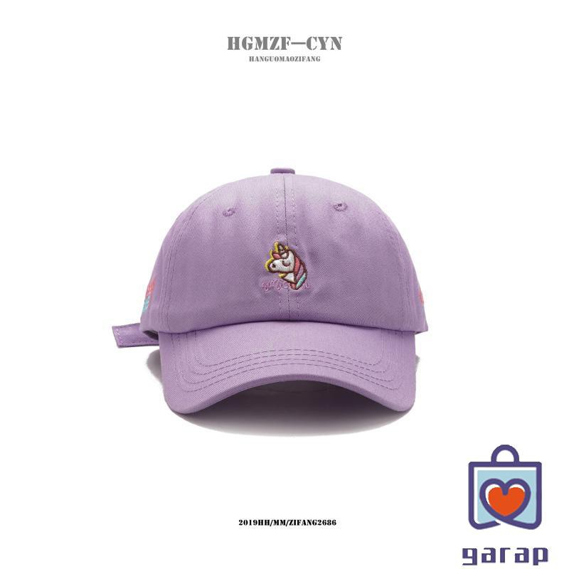 Hat female spring and summer letters embroidered soft t