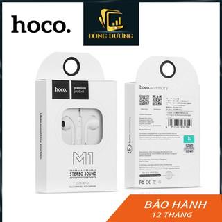 Tai nghe điện thoại Hoco M1 jack 3.5mm thiết kế tinh tế có mic và nút chỉnh Volume,tai nghe iphone,samsung - ĐÔNG DƯƠNG