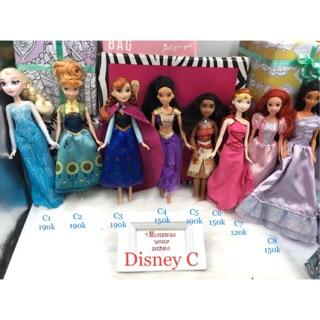 Búp bê công chúa Disney chính hãng. Búp bê có khớp. Mã Disney C thumbnail