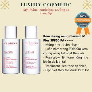 Kem chống nắng vật lý Clarins UV Plus SPF50 PA++++