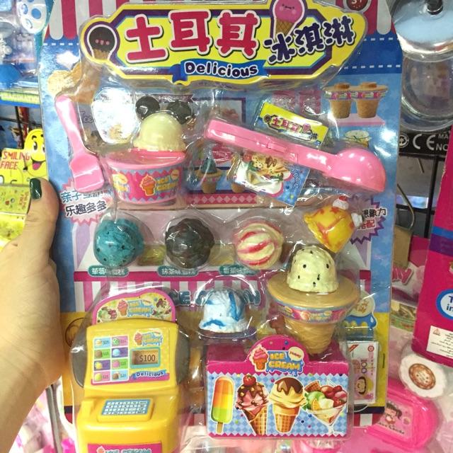 Bộ đồ chơi cửa hàng bán kem