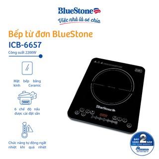 Bếp Điện Từ Đơn BlueStone ICB-6657- Tặng kèm nồi- Hàng Chính Hãng thumbnail
