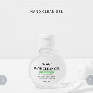 DR.AG - Gel rửa tay khô Hand Clean Gel 55ml mềm da tay tiện lợi thumbnail