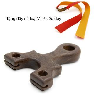 (Chạc 8.5) [V.I.P] Ná cao su thân gỗ chất lượng cao cấp dây dẹp mẫu #42 (Có lỗ)